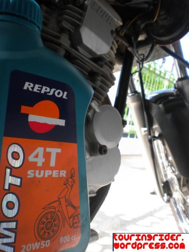 Oli Repsol for Scorpio